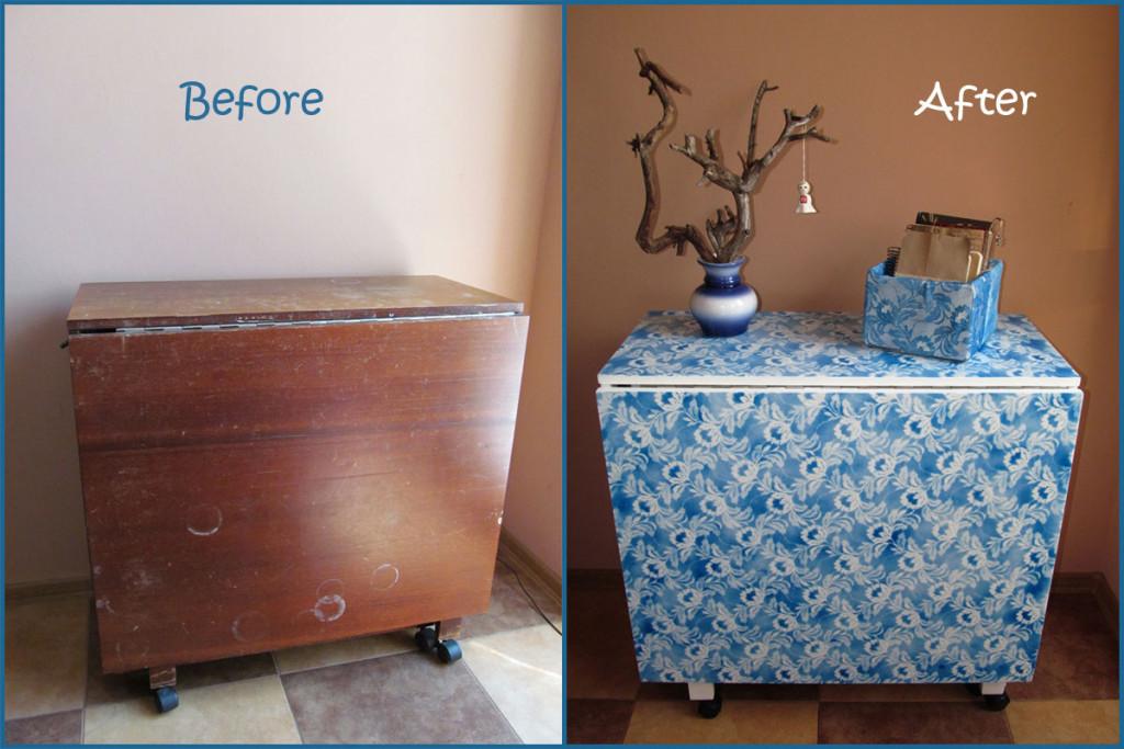Как обновить старый шкаф из дсп своими руками