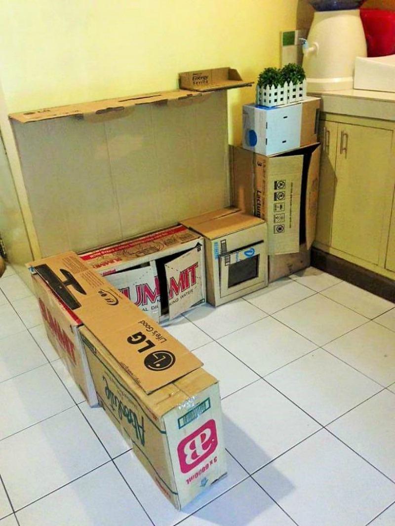 Как сделать мебель для кукол? Кукольный домик своими