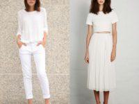 Белая одежда — это лучший вариант на это лето. Стильные идеи