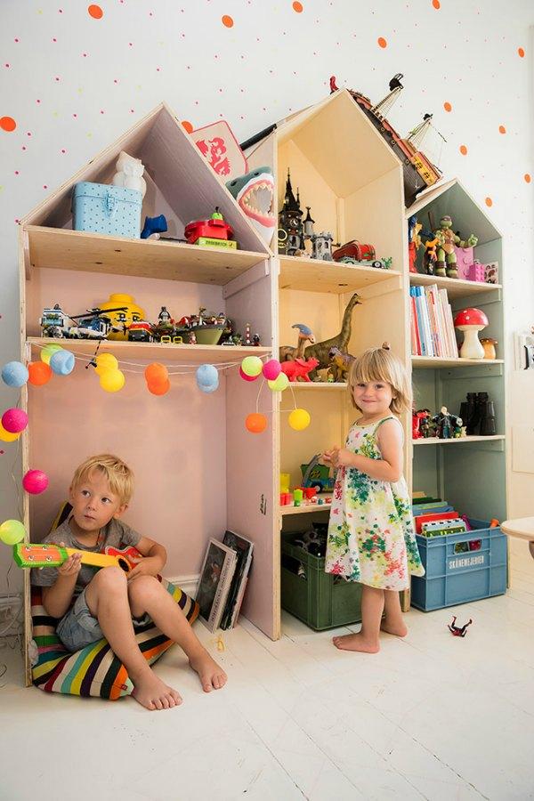 домик для игрушек