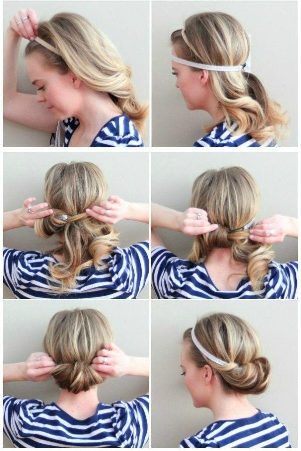 Видео как делать прически самой себе на короткие волосы