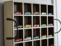 Как организовать хранение игрушечных машинок