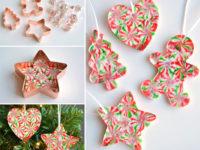 15 нескучных новогодних поделок для детей