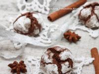 Самое зимнее шоколадное печенье с трещинками. Время праздничной выпечки!