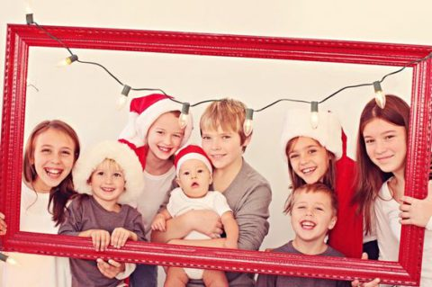 Идеи для новогодней фотосессии с детьми
