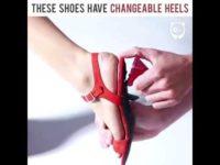Изобретена обувь-трансформер, которая каждый день может становиться другой