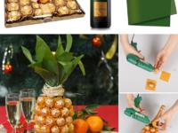 Как оригинально подарить бутылку шампанского на Новый год