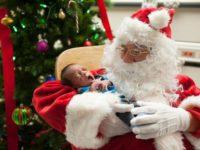 Первое Рождество недоношенных деток