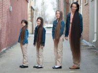 Семья Рапунцель, где никто из прекрасной половины не стрижет волосы