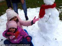 Дети мечтали увидеть снег к Рождеству, и их папа сумел добыть его для них