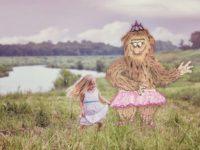 Совсем не злые монстры в детской фотосессии