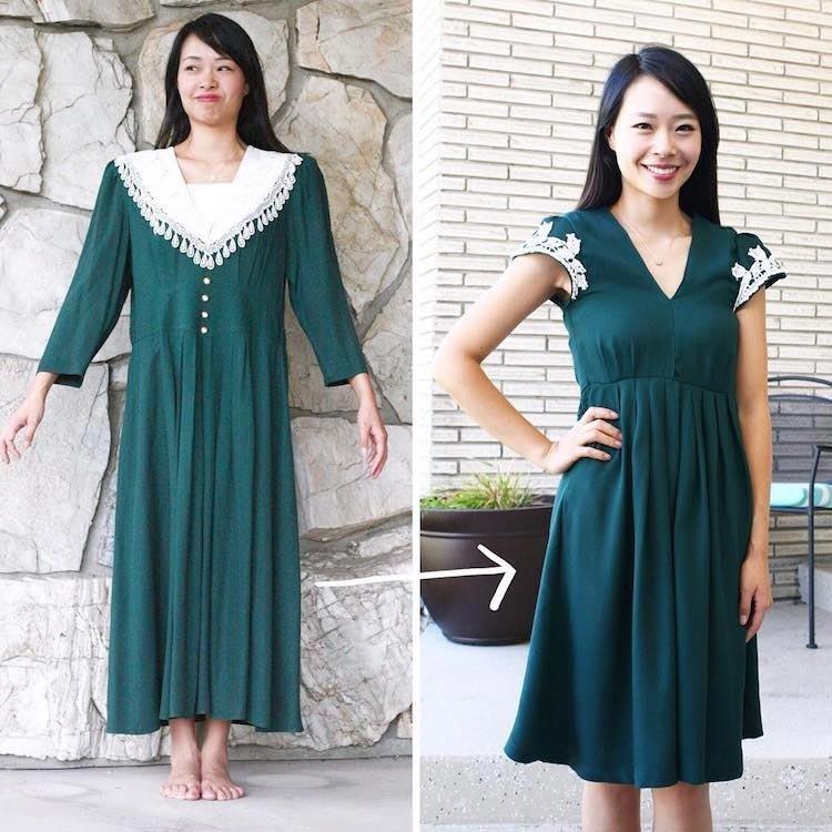 Как перешить старое платье своими руками