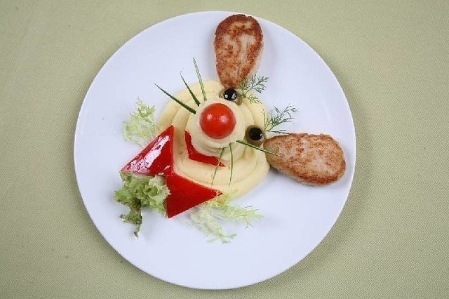 Оформление детских блюд сами