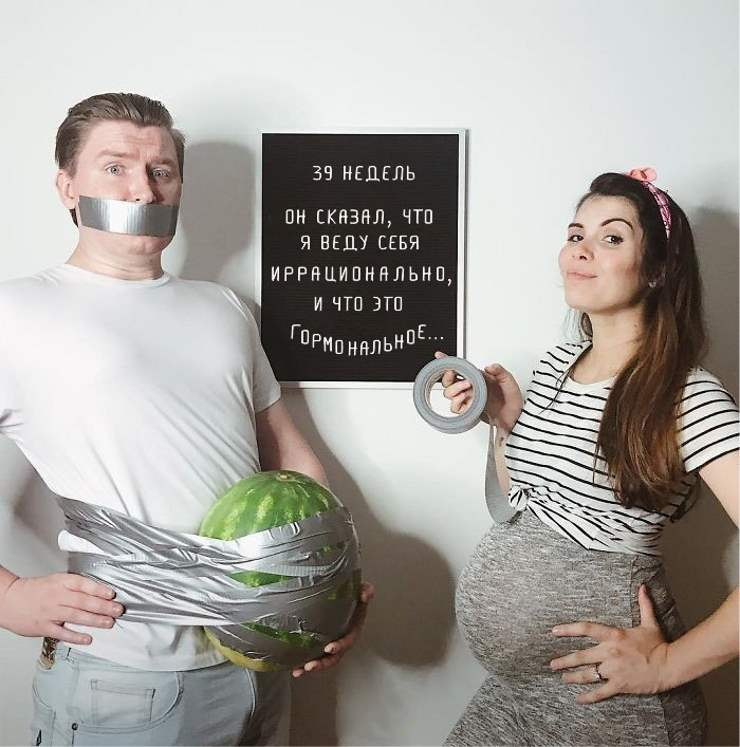 Фото беременных на каждой неделе